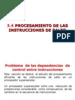 PROGRAMACION Instrucciones Salto