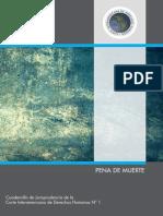 N° 1.- PENA DE MUERTE Cuadernillo de Jurisprudencia de la CIDH