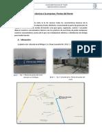 Informe de Postes Del Norte Trujillo Perú