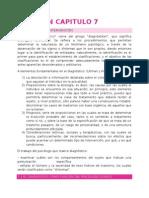 Resumen capitulo 7 Diagnóstico psicológico