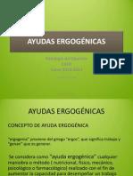 AYUDAS ERGOGÉNICAS