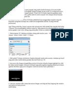 Ulead Coll 3D Studio Adalah Suatu Program Yang Untuk Membuat Animasi 3d Secara Mudah