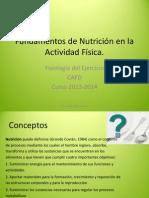 Fundamentos Nutrición CAF