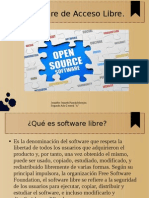Software de Acceso Libre