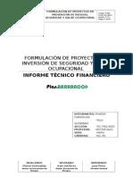 Informe Técnico Financiero
