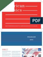 American Classics Programm Saarbrücker Sommermusik