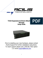Facilis TX16 Setup Guide