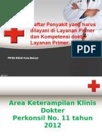 Daftar Penyakit Dan Kompetensi Dokter Layanan Primer