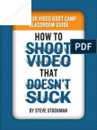 Steve Stockman- 5 Hour Video Boot Camp