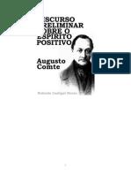 Augusto Comte - Discurso Preliminar Sobre o Espírito Positivo