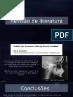Fabiola - Teses Sobre Estudos Das Vértebras Cervicais