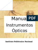 Manual Instrumentos Opticos