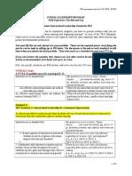 fx checklist portfolio