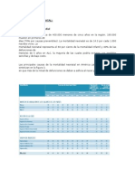 CARACTERIZACIÓN EPIDEMIOLÓGICA mortalidad perinatal