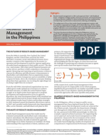 Ramping Up Results-Based Management in the Philippines