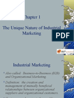 The Unique Nature of Industrial Marketing b2b
