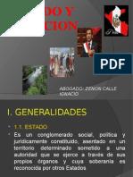 EL Estado y La Nacion Peruana