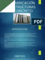 Prefabricación de Estructuras de Concreto