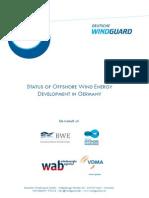 Factsheet Status Offshore Wind Energy Development Year 2014