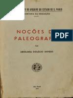 Noções de Paleografia