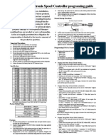 Ritewing ESC Manual PDF