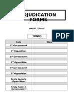 Adjudication Form HKSBP