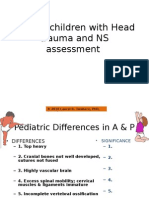 _Assessment of NS and Head Trauma