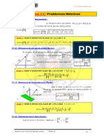 Tema 11-Problemas Metricos