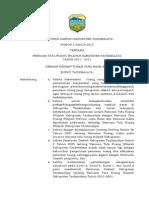 Perda No. 2 Tahun 2012 Tentan RTRW Kab. Tasikmalaya Tahun 2011 - 2031