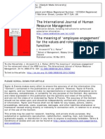 The Meaning of 'Employee Engagement'