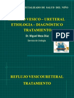 UROPEDIATRIA- 4to Reflujo Vesico - Ureteral TTO QX