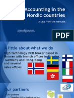 Accounting in the Nordic Countries