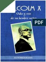 Leer Malcolm X Vida y Voz de Un Hombre Negro. Autobiografía y Seleccion de Discursos