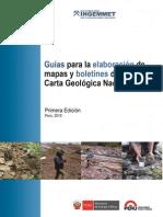 Guias Manuales INGEMMET 2015