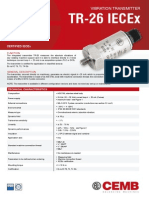 Data Sheet Tr-26 Iecex Gb
