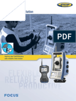 Data Sheet - Total Station Spectra Perecision FOCUS 30 (Sahabat Survey)