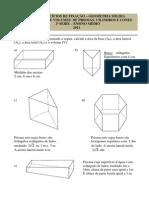 Exercícios de Fixação sobre Prismas, Cilindros e Cones.pdf