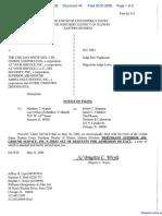 Demar v. Chicago White Sox, Ltd., The et al - Document No. 44