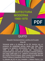 9. Arquitectura Moderna 1960 1970