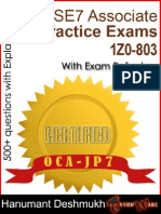 Oracle Certified Associate Java SE 7 Programmer Practice Exams (1Z0-803)