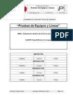 751 P. Pruebas a Equipos y Lineas