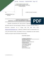 AdvanceMe Inc v. AMERIMERCHANT LLC - Document No. 9