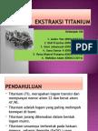 Ekstraksi Titanium