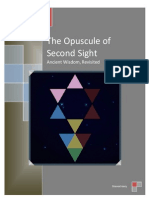 The Opuscule of Second-Sight