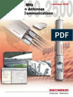 Kathrein Anten Catalog 021006