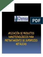 Fosfatizado Hierro Aspersion
