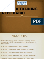NTPC DADRI Training ppt