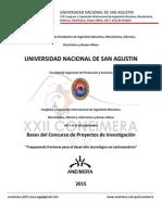 Bases Del Concurso de Proyectos XXII CONEIMERA FINAL