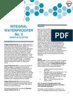 10a Integral Waterproofer No