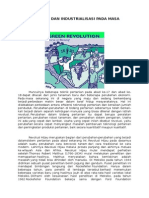 Revolusi Hijau Dan Industrialisasi Pada Masa Orde Baru